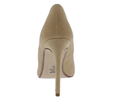 Cindys Natural Pointed Toe Stiletto Pump Heel - Wholesale Fashion Shoes
