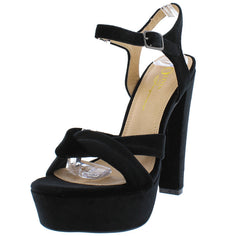 CLASH BLACK WOMEN'S HEEL - Wholesale Fashion Shoes
