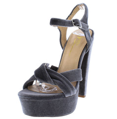 CLASH GREY WOMEN'S HEEL - Wholesale Fashion Shoes