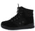 Classic2 Black Canvas Lace Up Sneaker Boot
