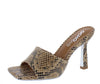 Cordoba01 Taupe Square Open Toe Mule Slide Heel - Wholesale Fashion Shoes