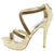 Sonia224 Gold Women's Heel