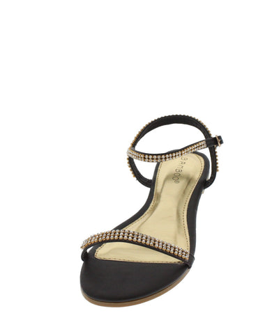 Dino21 Black Fashion Sandals - Wholesale Fashion Shoes