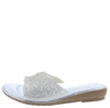 DJ18 Silver Women's Sandal - Wholesale Fashion Shoes