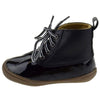 Ducko1a Black Lace Up Ankle Duck Infants Boot - Wholesale Fashion Shoes