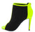 Dashing30 Black Peep Toe Stiletto Ankle Boot