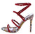 Dashing41 Red Women's Heel