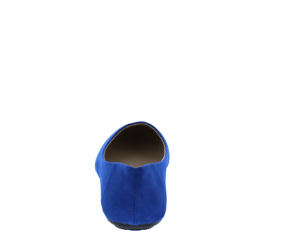 Demi01 Blue Round Toe Ballet Flat - Wholesale Fashion Shoes