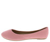 Demi10 Blush Round Toe Ballet Flat - Wholesale Fashion Shoes