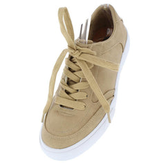 DOVERG CAMEL RUBBER SOLE FLAT FORM SNEAKER FLAT - Wholesale Fashion Shoes