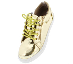 DOX17 GOLD WOMEN'S FLAT - Wholesale Fashion Shoes