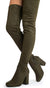 Elantra01th Olive Women's Boot