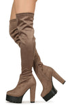 Erin11 Taupe Women's Boot