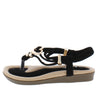 Erita19k Black Kids Sandal