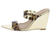 Exclusive04 Gold Metallic Pu Women's Wedge - Wholesale Fashion Shoes