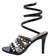 Elise60 Black Women's Heel
