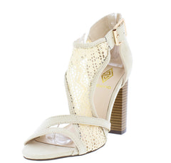 EMILY NUDE WOMEN'S HEEL - Wholesale Fashion Shoes