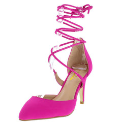ERICA2 HOT PINK WOMEN'S HEEL - Wholesale Fashion Shoes