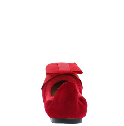 Erink Red Bow Toe Kids Ballet Flat - Wholesale Fashion Shoes