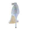Exception28 Silver Snake Lucite Pointed Open Toe Stiletto Heel - Wholesale Fashion Shoes