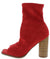 Melissa102 Red Women's Boot