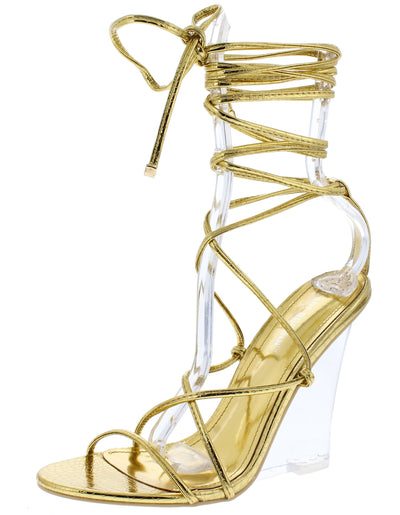 Fallen Gold Women's Wedge - Wholesale Fashion Shoes
