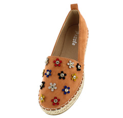 FANCY08 ORANGE WOMEN'S FLAT - Wholesale Fashion Shoes