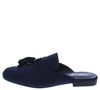 Fay03 Navy Tassel Mule Loafer Flat - Wholesale Fashion Shoes