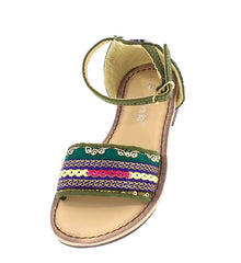 FESTIVE21K OLIVE KIDS SANDAL - Wholesale Fashion Shoes