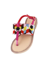 FESTIVE27K FUCHSIA KIDS SANDAL - Wholesale Fashion Shoes