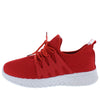 Fleen32 Red Women's Flat - Wholesale Fashion Shoes