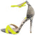 Frasier67 Neon Yellow Nubuck Pu Women's Heel