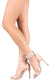 Kylie144 Nude Open Toe Wide Ankle Strap Stiletto Heel