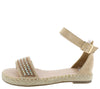 Grass304 Nude Women's Sandal - Wholesale Fashion Shoes