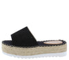 Grass402 Black Women's Sandal - Wholesale Fashion Shoes