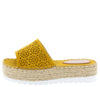 Grass402 Yellow Women's Sandal - Wholesale Fashion Shoes
