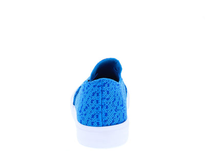 Gaby1 Aqua Stretch Knitted Slip on Sneaker Flat - Wholesale Fashion Shoes
