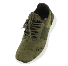 THEA092 OLIVE WOMAN'S FLAT - Wholesale Fashion Shoes