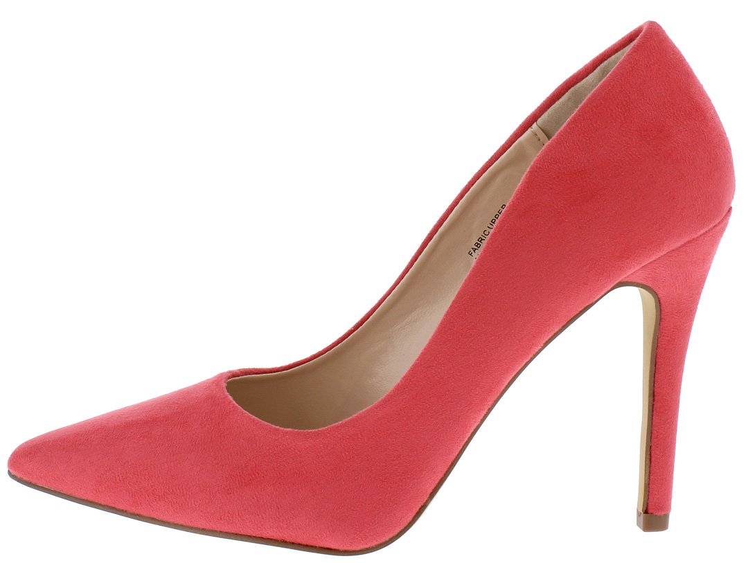 ac54454dc2 Gigi03 Pink Pointed Toe Stiletto Pump Heels Only $10.88 - Wholesale Fashion  Shoes