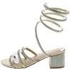 Godiva03 Gold Women's Heel - Wholesale Fashion Shoes