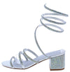 Godiva03 Silver Women's Heel - Wholesale Fashion Shoes