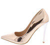 Grace1p Rose Gold Women's Heel - Wholesale Fashion Shoes