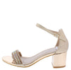 Evie01 Champagne  Women's Heel - Wholesale Fashion Shoes