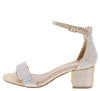 Norma264 Champagne Women's Heel - Wholesale Fashion Shoes
