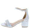 Norma264 Silver Women's Heel - Wholesale Fashion Shoes