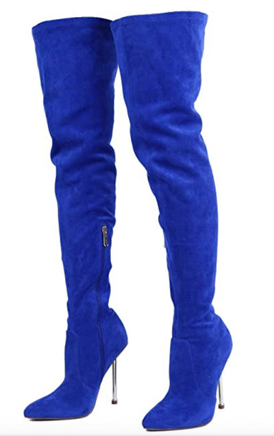 Holdtight Blue Women's Boot - Wholesale Fashion Shoes