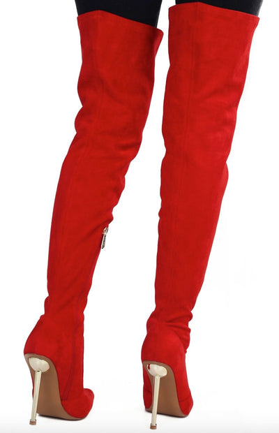 Holdtight Red Women's Boot - Wholesale Fashion Shoes