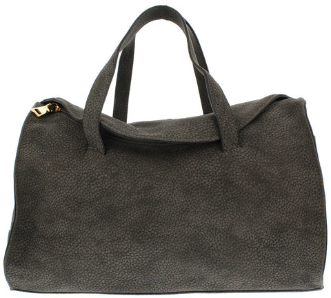 NATALIA DARK GREY WOMEN'S HANDBAG - Wholesale Fashion Shoes - 1