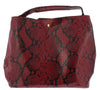 Margot01 Wine Women's Handbag Two Piece Set - Wholesale Fashion Shoes