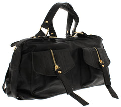 ERMA BLACK WOMEN'S HANDBAG - Wholesale Fashion Shoes